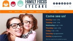 Website | Family Focus Eyecare