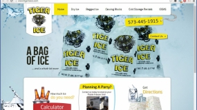 Website | Tiger Ice