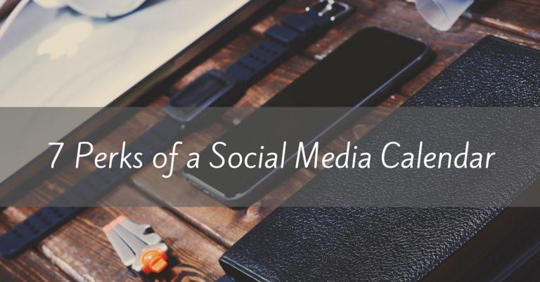 how to create a social media content calendar