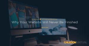 Website Never Finished
