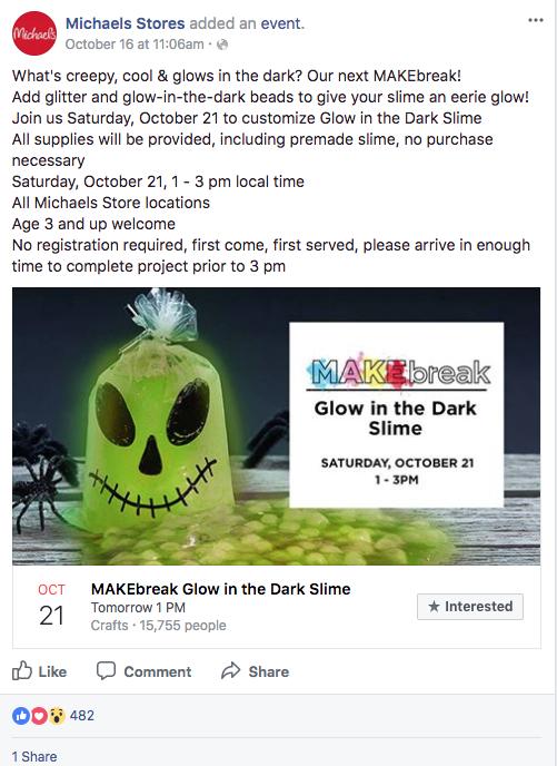 Michael halloween marketing