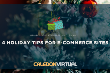 4 Holiday Tips for E-commerce Sites