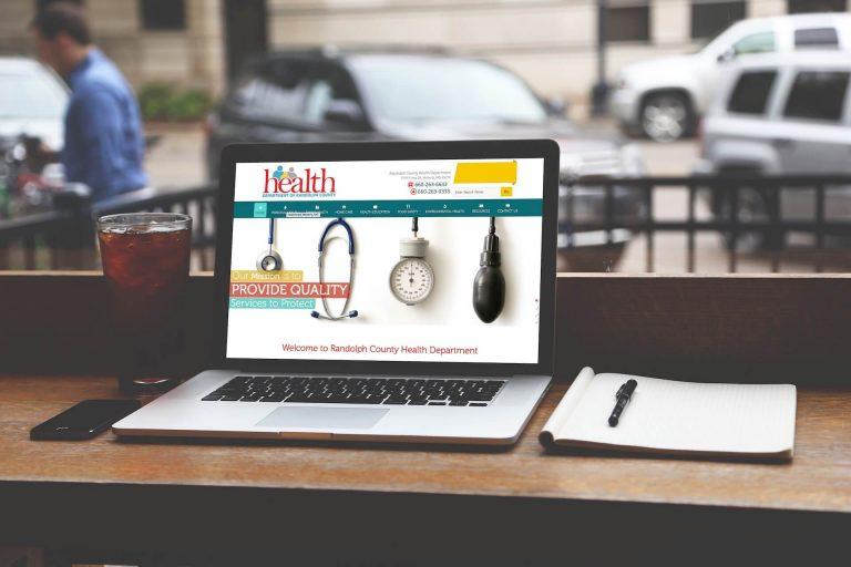Randolph County Health Department Website Design