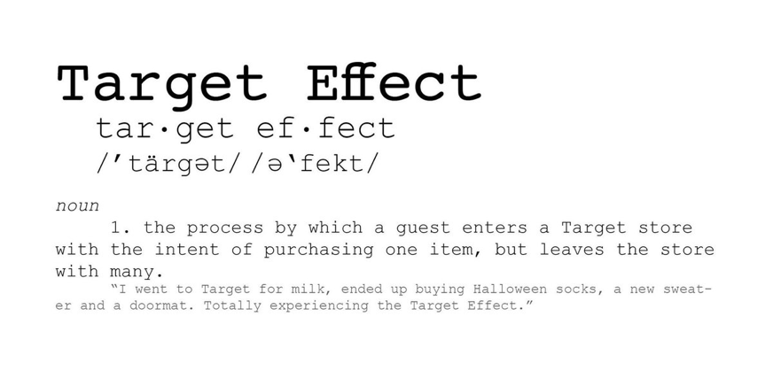target effect