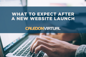 What to expect after a new website launch