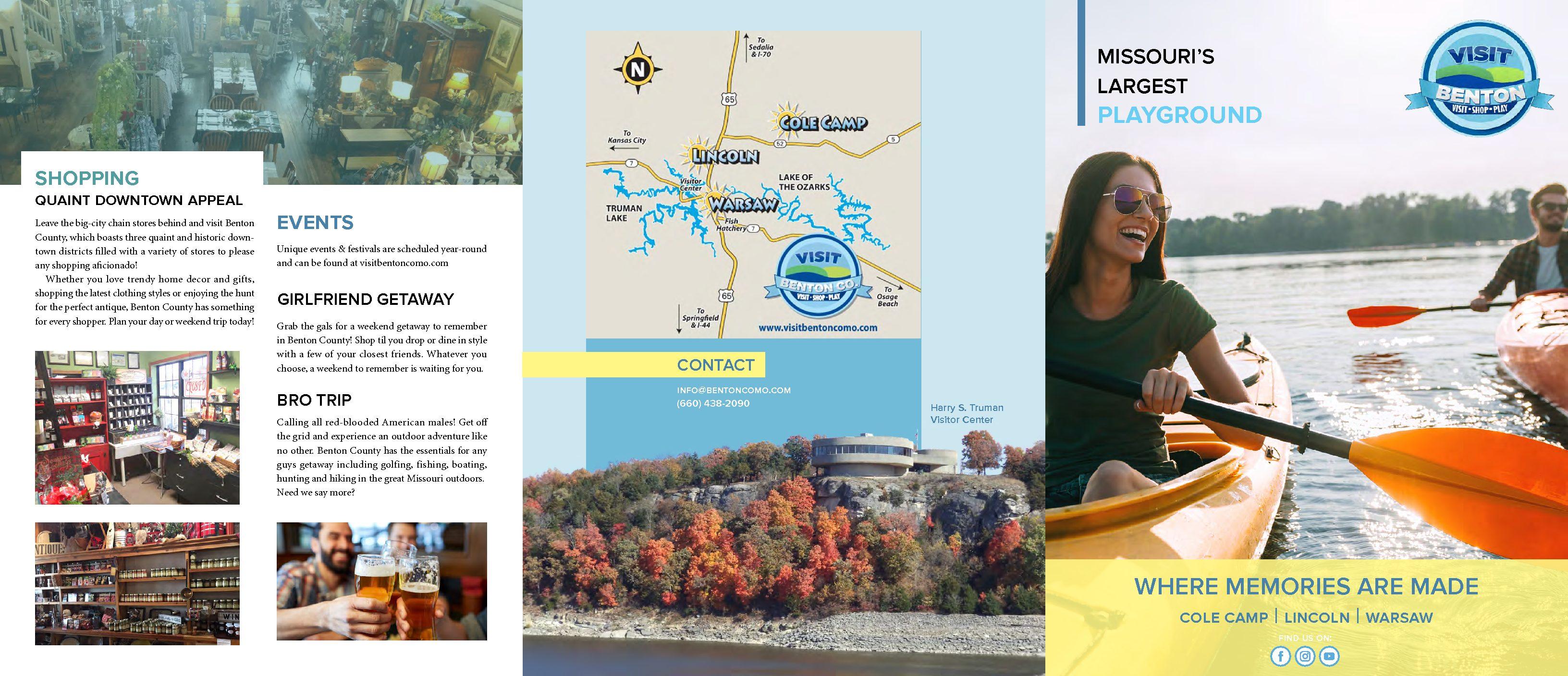 Benton County Tourism Brochure