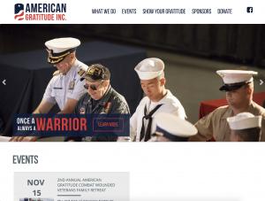 American Gratitude Website