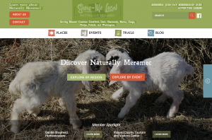 Naturally Meramac Website Design