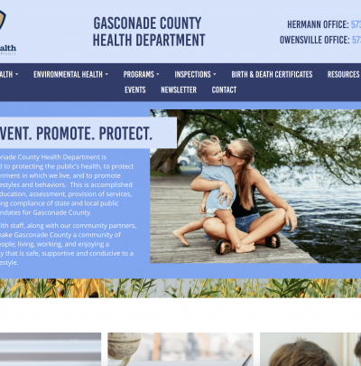 Gasconade County Health Department Desktop