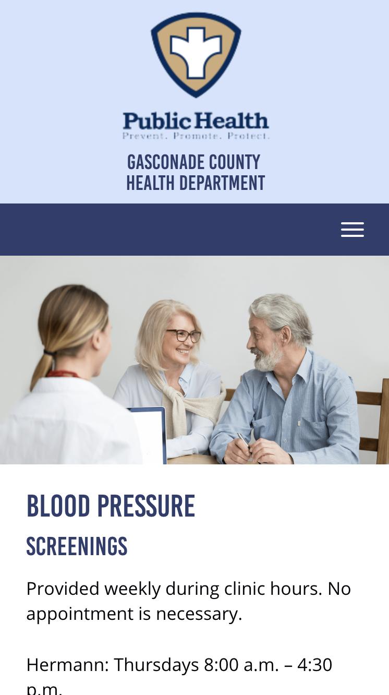 Gasconade County Health Department Mobile