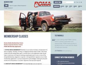 POMA Website