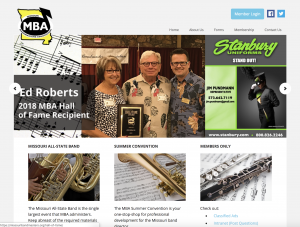 Missouri Bandmasters Association Website