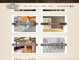 Boone County Millwork Website