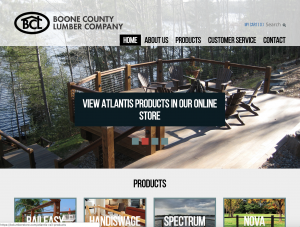 Boone County Lumber Website