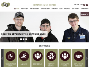 Center for Human Services Website