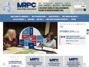 MRPC tourism website design