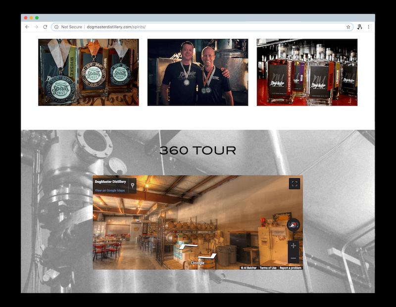 DogMaster Distillery Desktop
