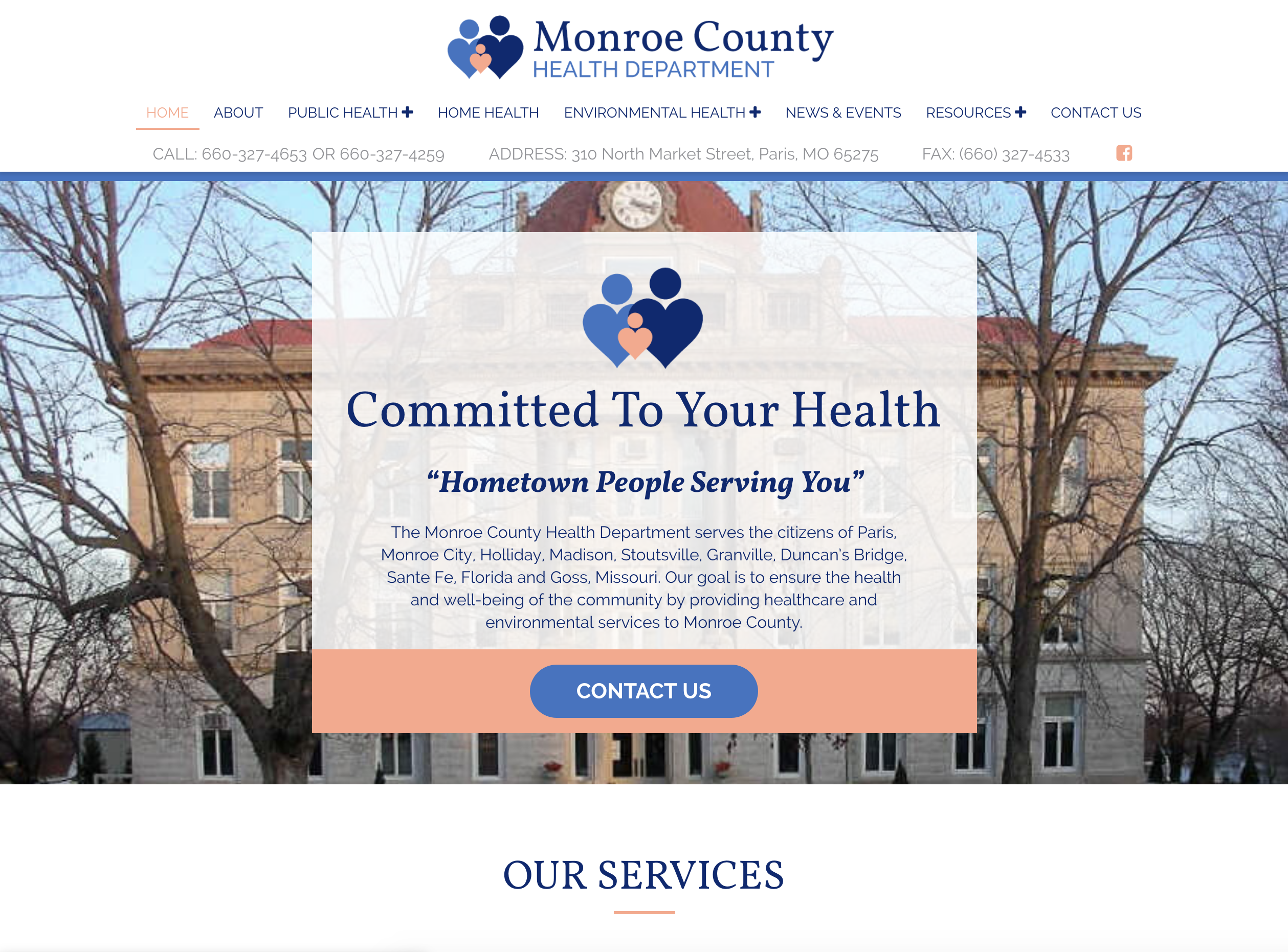 Monroe County Health Department